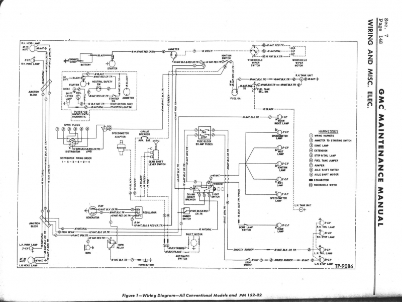 Best 1966 Gmc Wiring Diagrams Gallery - The Best Electrical Circuit