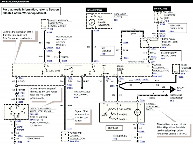 Electrical Wiring Diagram Diagrams 94 Lincoln La Sierra Classic
