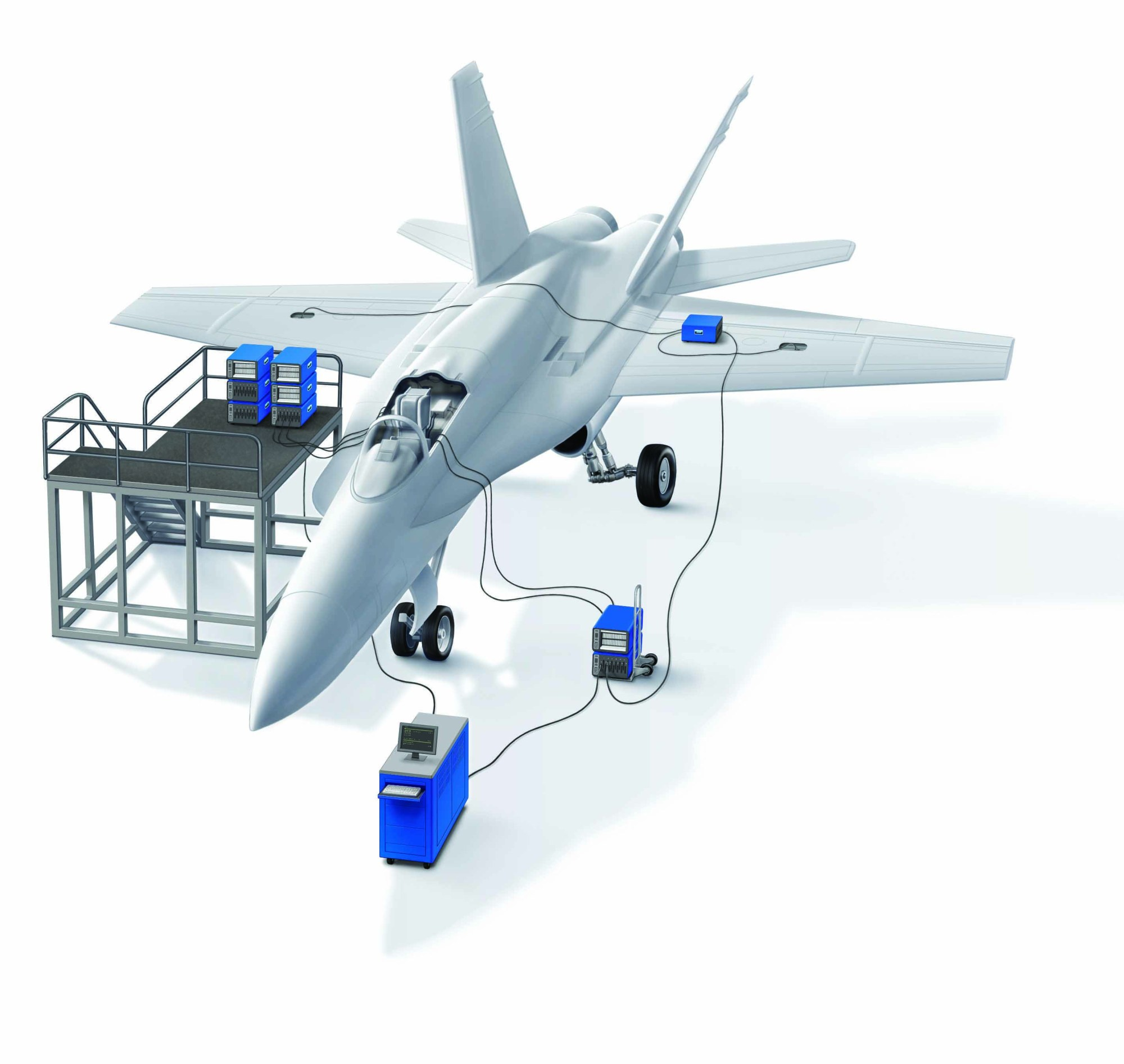 hight resolution of dit mco 2650 s modular design facilitates distributed placement of modules around an aircraft allowing for much shorter adapter cables