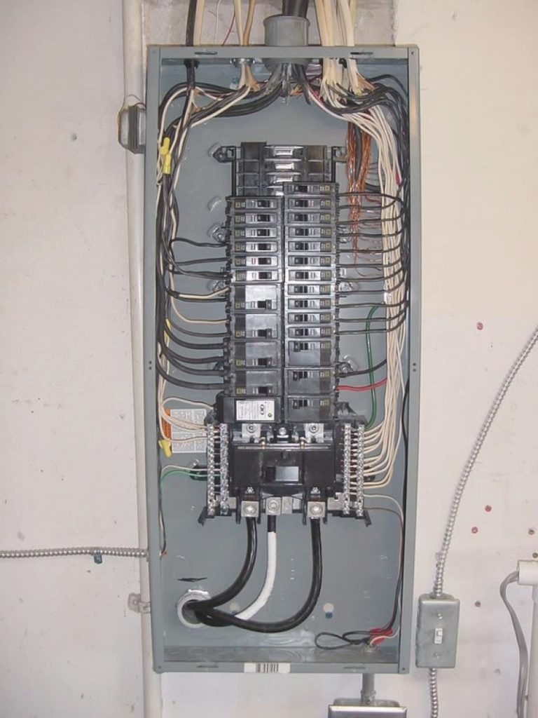 medium resolution of wiring wiring a sub panel to main electrical panel square d qo load circuit breaker load center wiring on main breaker panel wiring