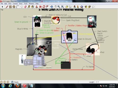 small resolution of 110cc atv cdi wiring diagram