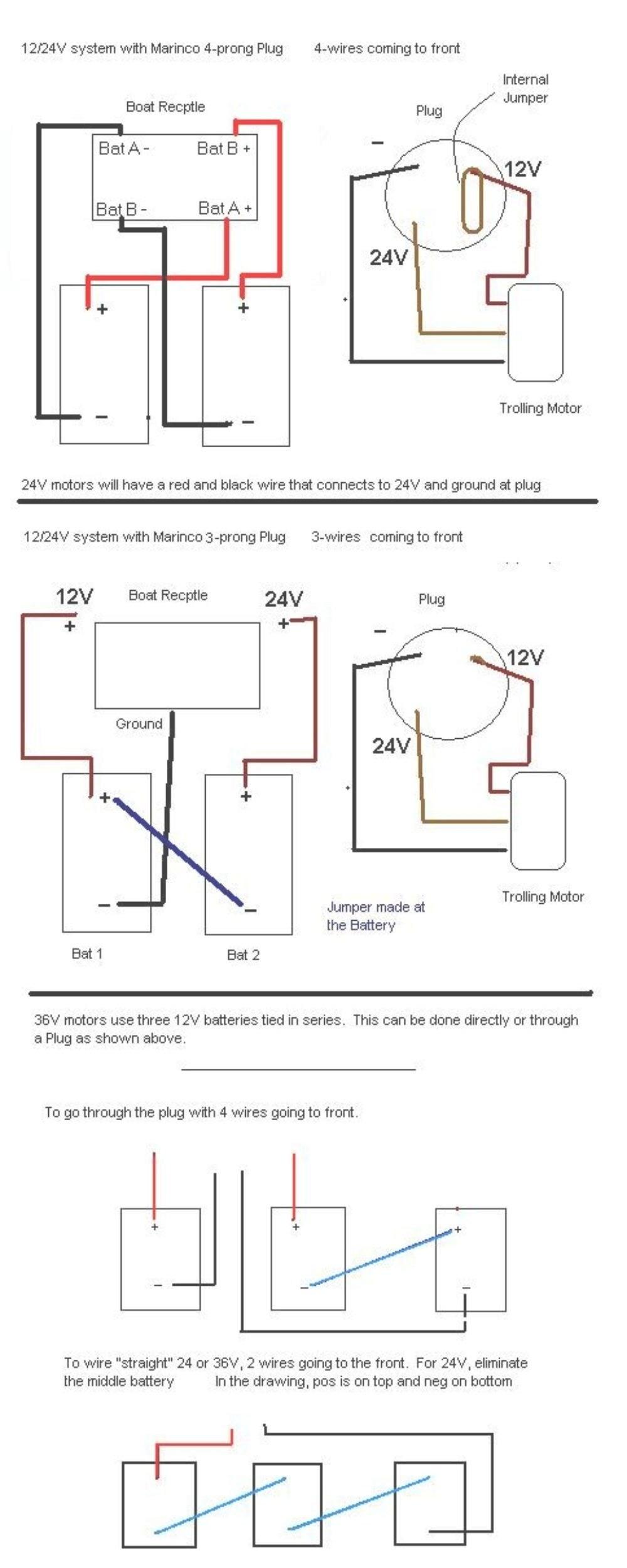 medium resolution of 12 24 volt trolling motor wiring diagram wiring diagram 12 24 volt trolling motor wiring diagram