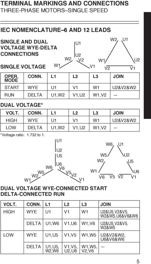 small resolution of 3 phase motor wiring diagram 12 leads wirings diagram 480 volt motor wiring 12 lead motor