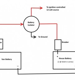 rv battery diagram wiring diagram sort battery isolator wiring diagram with converter [ 1092 x 910 Pixel ]