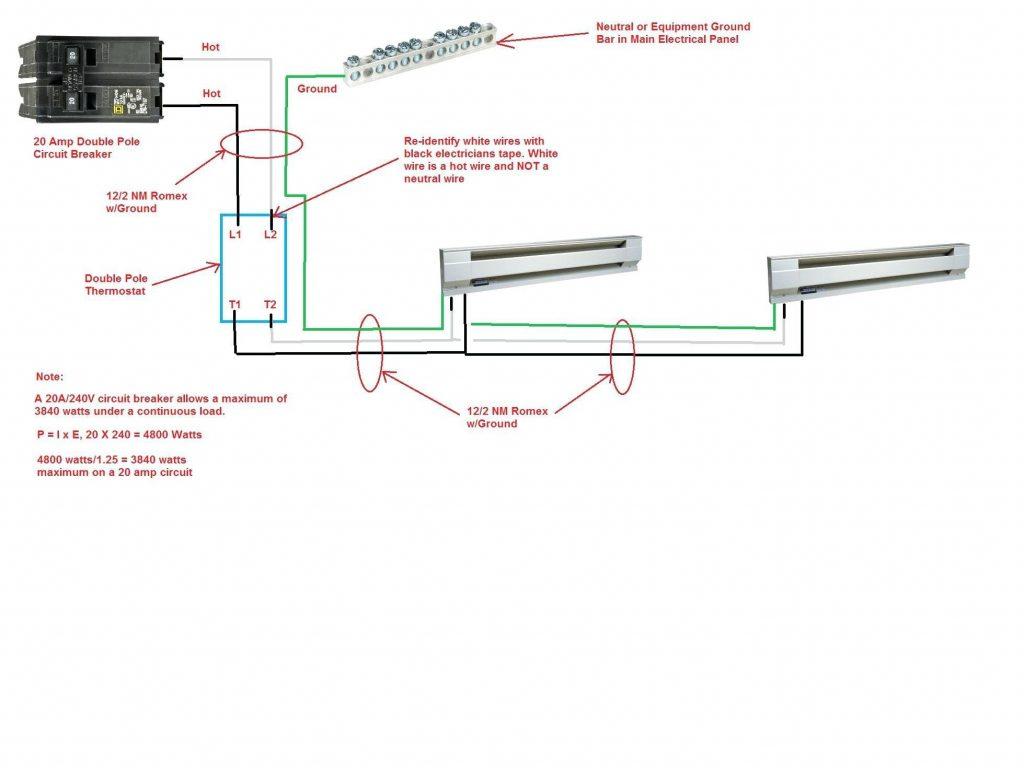 hight resolution of 240v baseboard wiring diagram 1 wiring diagram source marley baseboard heater wiring diagram 120v vs 240v