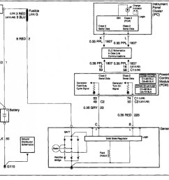12si alternator wiring diagram manual e books one wire alternator wiring diagram chevy [ 1201 x 870 Pixel ]