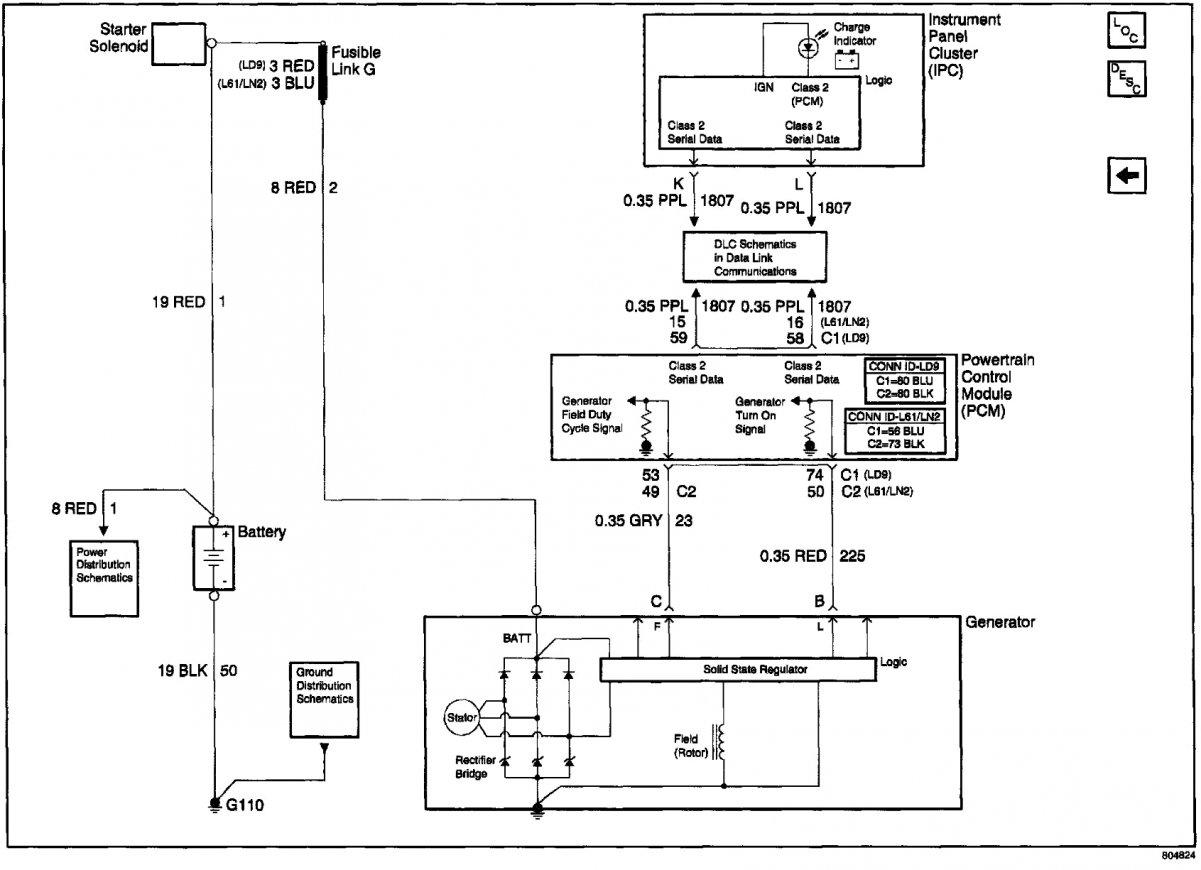 Starter Generator Wiring Diagram On Gm One Wire Alternator Wiring