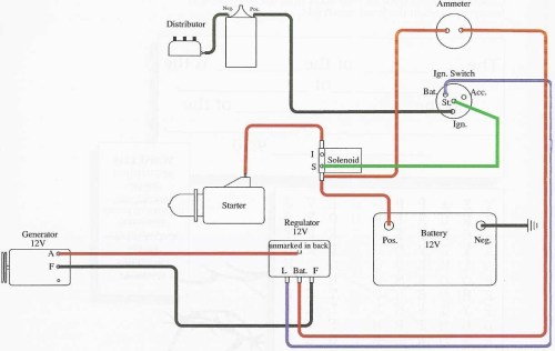 small resolution of 1948 ford 8n wiring diagram for 6volt data wiring diagram today 8n ford tractor wiring diagram 12 volt