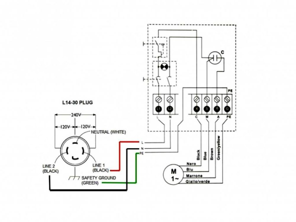 medium resolution of air compressor wiring diagram 240v wirings diagram campbel hausfield compressor 7hp 220 wiring 220 compressor wiring diagram
