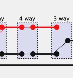 3 way light switch wiring diagram pdf wiring diagram 4 way switch wiring diagram [ 1940 x 970 Pixel ]