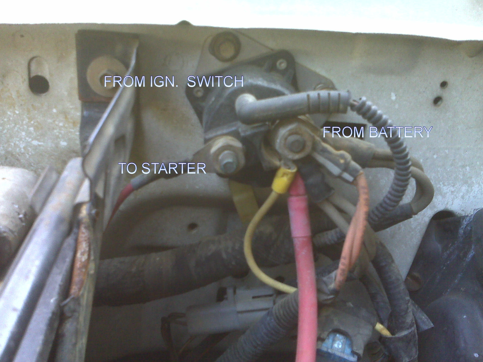 hight resolution of  starter solenoid wiring diagram for on lawn mower starter solenoid wiring diagram jeep starter solenoid