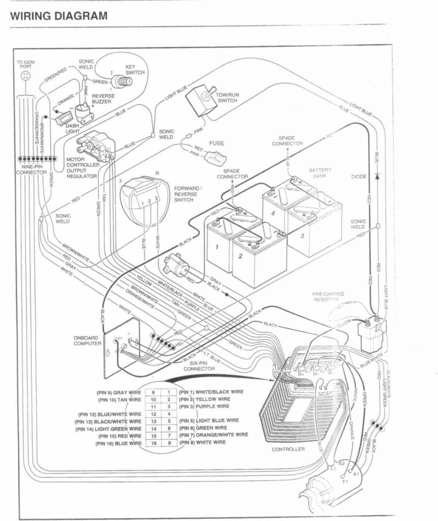medium resolution of 36 volt club car wiring diagram lights