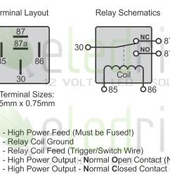 5 wire relay schematic wiring diagram automotive relay wiring diagram [ 1098 x 933 Pixel ]