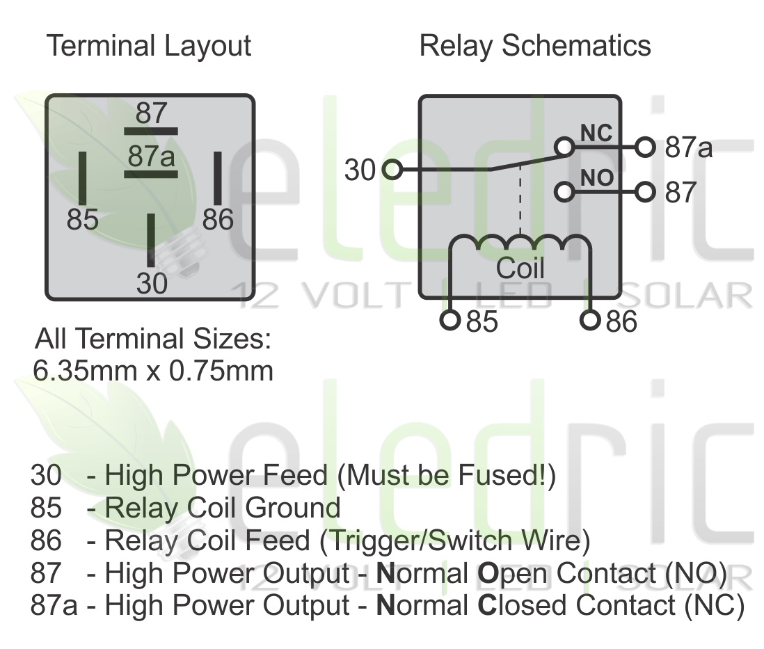 hight resolution of 5 wire relay schematic wiring diagram automotive relay wiring diagram