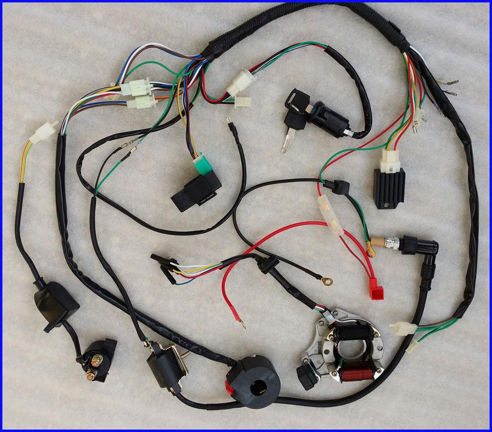 hight resolution of 50cc 70cc 90cc 110cc wire harness wiring cdi electric atv quad50cc 70cc 90cc 110cc wire harness