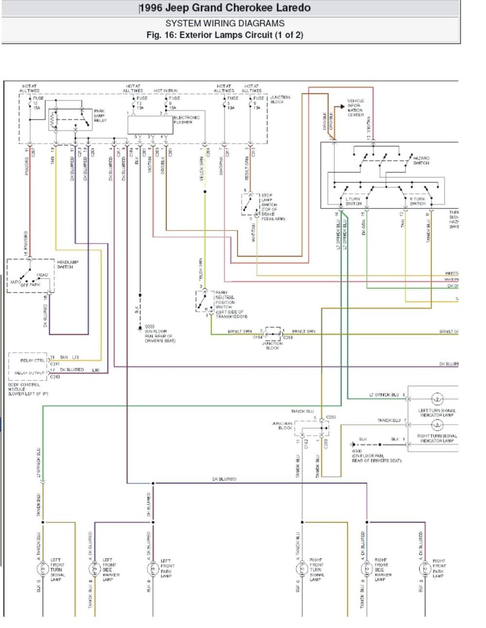 medium resolution of 97 jeep wiring wiring diagram power window wiring diagram
