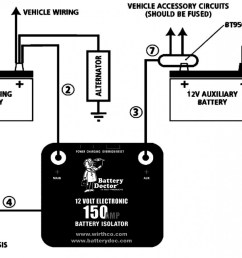 dual battery isolator switch wiring wire diagram dual battery isolator switch wiring diagram share circuit diagrams [ 1499 x 910 Pixel ]