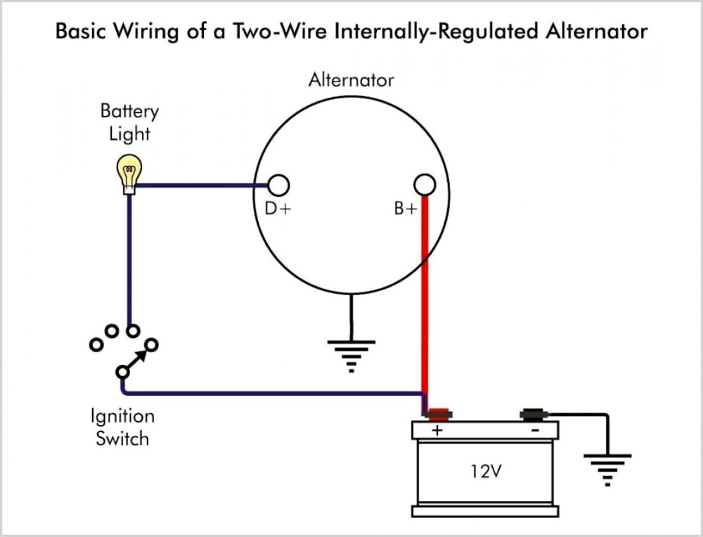 medium resolution of delco internal regulator alternator wiring diagram wiring diagram 3 wire delco alternator wiring diagram wiring diagram