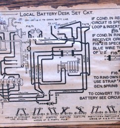 Antique Crank Phone Wiring Diagram - old phone wiring ... on
