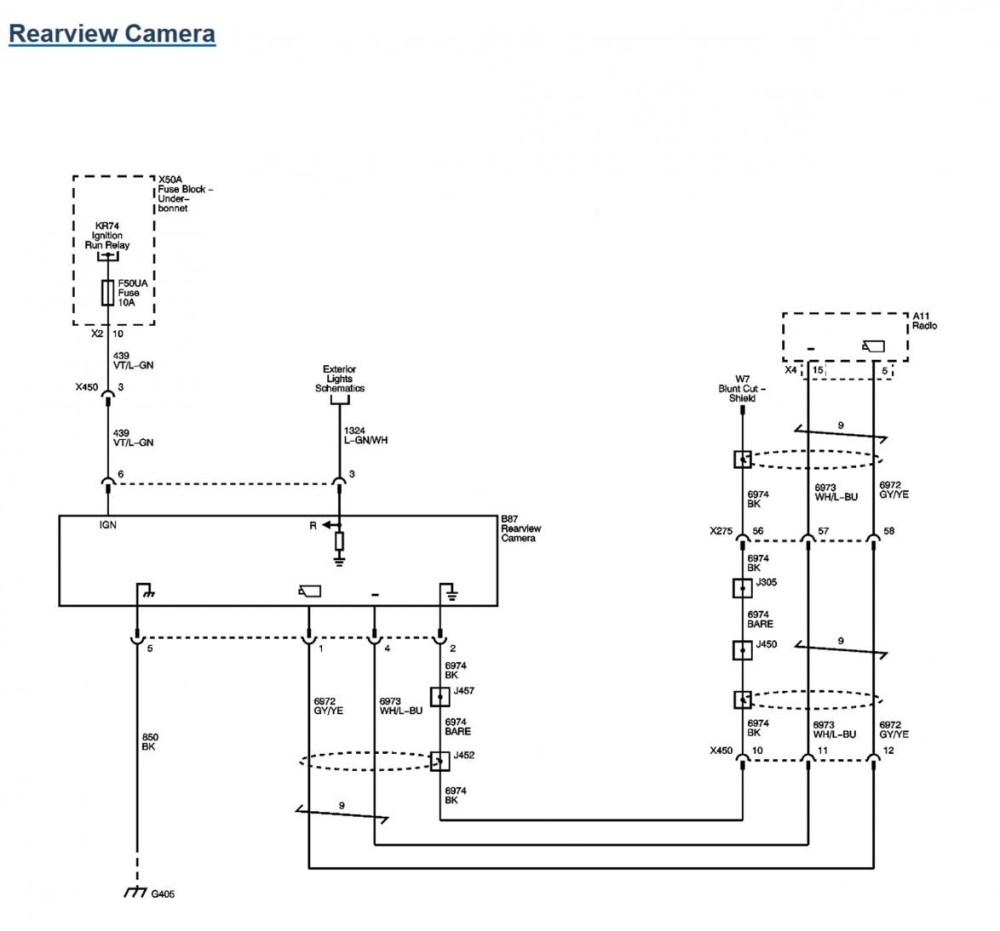 medium resolution of backup camera wire diagram wiring diagram gm backup camera wiring diagram