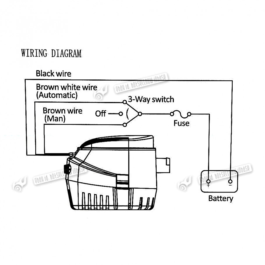 Wiring Automatic Bilge Pump Switch