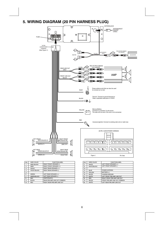 hight resolution of boss radio wiring harness wiring diagram boss audio wiring diagram