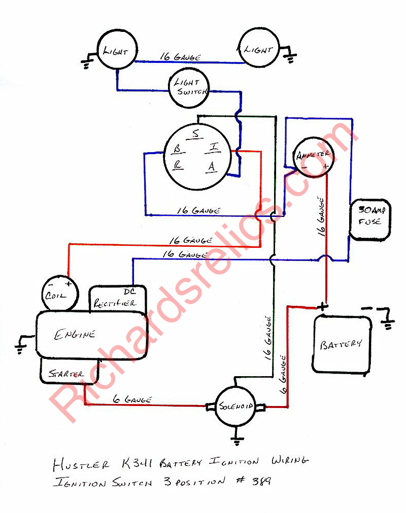 Wiring Diagram For Briggs And Stratton 16 Hp