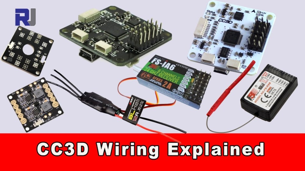medium resolution of cc3d flight controller wiring connection explained youtube cc3d wiring diagram