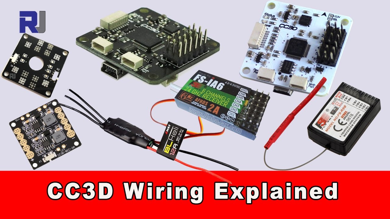 hight resolution of cc3d flight controller wiring connection explained youtube cc3d wiring diagram