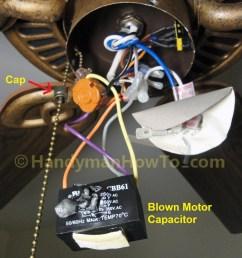 ceiling fan motor capacitor wiring manual e books ceiling fan wiring diagram with capacitor [ 900 x 1200 Pixel ]