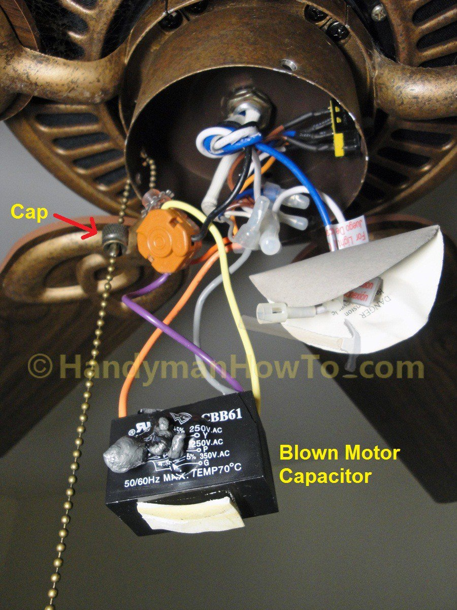 medium resolution of ceiling fan motor capacitor wiring manual e books ceiling fan wiring diagram with capacitor