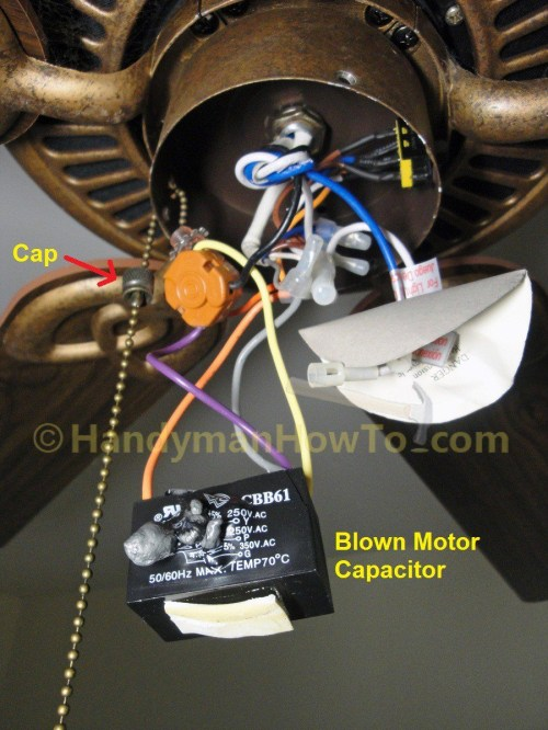 small resolution of ceiling fan motor capacitor wiring manual e books ceiling fan wiring diagram with capacitor