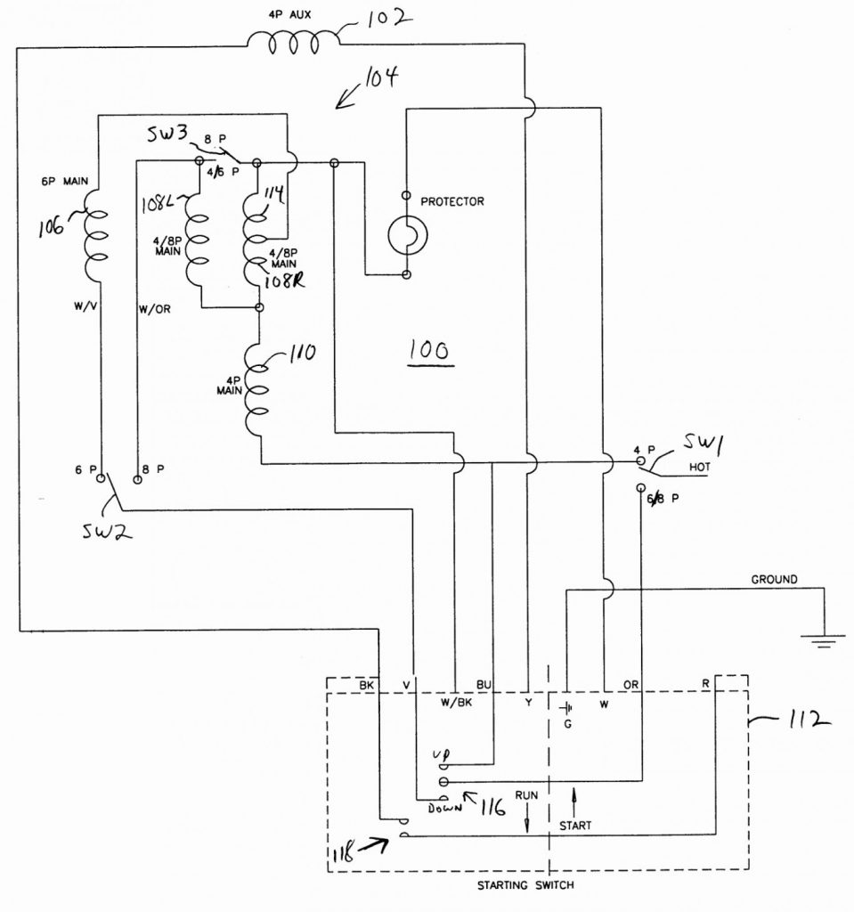 medium resolution of century electric motor wiring diagram t1052 wiring diagram wiring diagram for 115 230 motor with numbered wiring