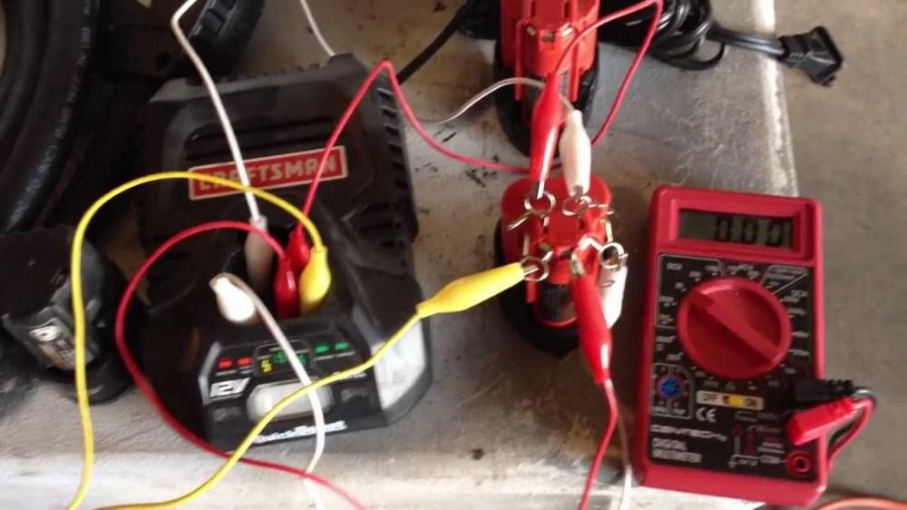 medium resolution of charge 12v lithium battery craftsman milwaukee ryobi dewalt craftsman 19 2 volt battery wiring diagram