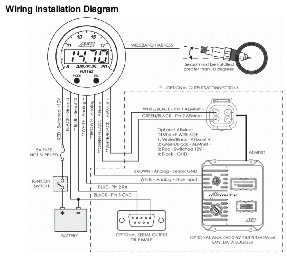 medium resolution of civic aem wideband wiring diagram wiring diagram aem wideband wiring diagram