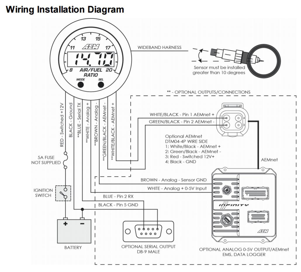 hight resolution of civic aem wideband wiring diagram wiring diagram aem wideband wiring diagram