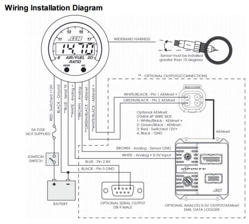 small resolution of civic aem wideband wiring diagram wiring diagram aem wideband wiring diagram