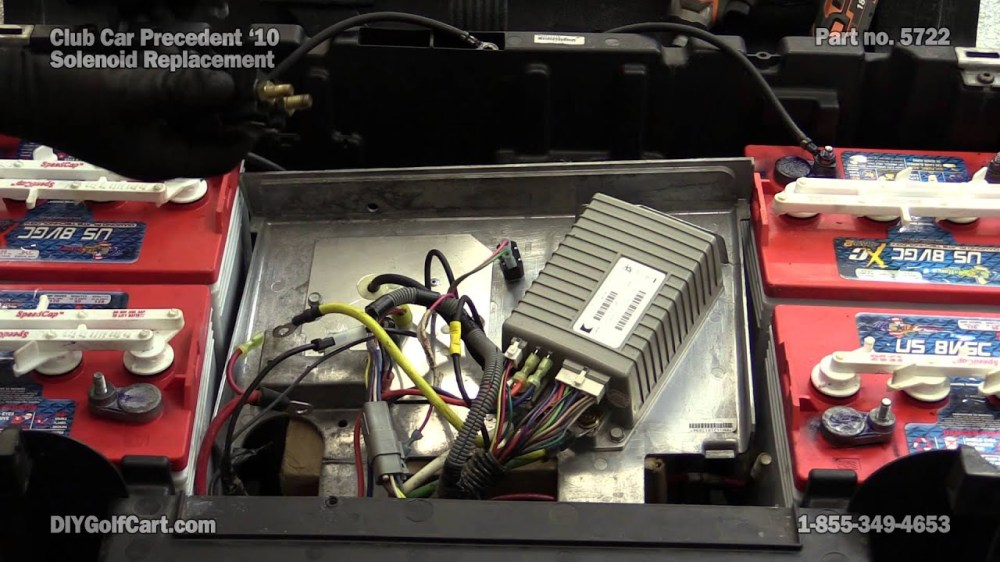 medium resolution of club car precedent 48 volt solenoid how to replace on golf cart 2008 club car precedent wiring diagram