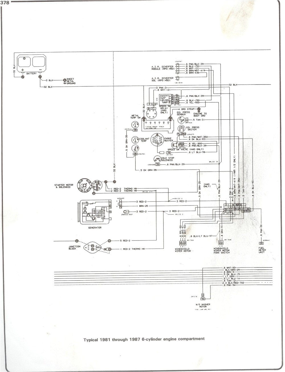 medium resolution of complete 73 87 wiring diagrams ignition wiring diagram chevy 350