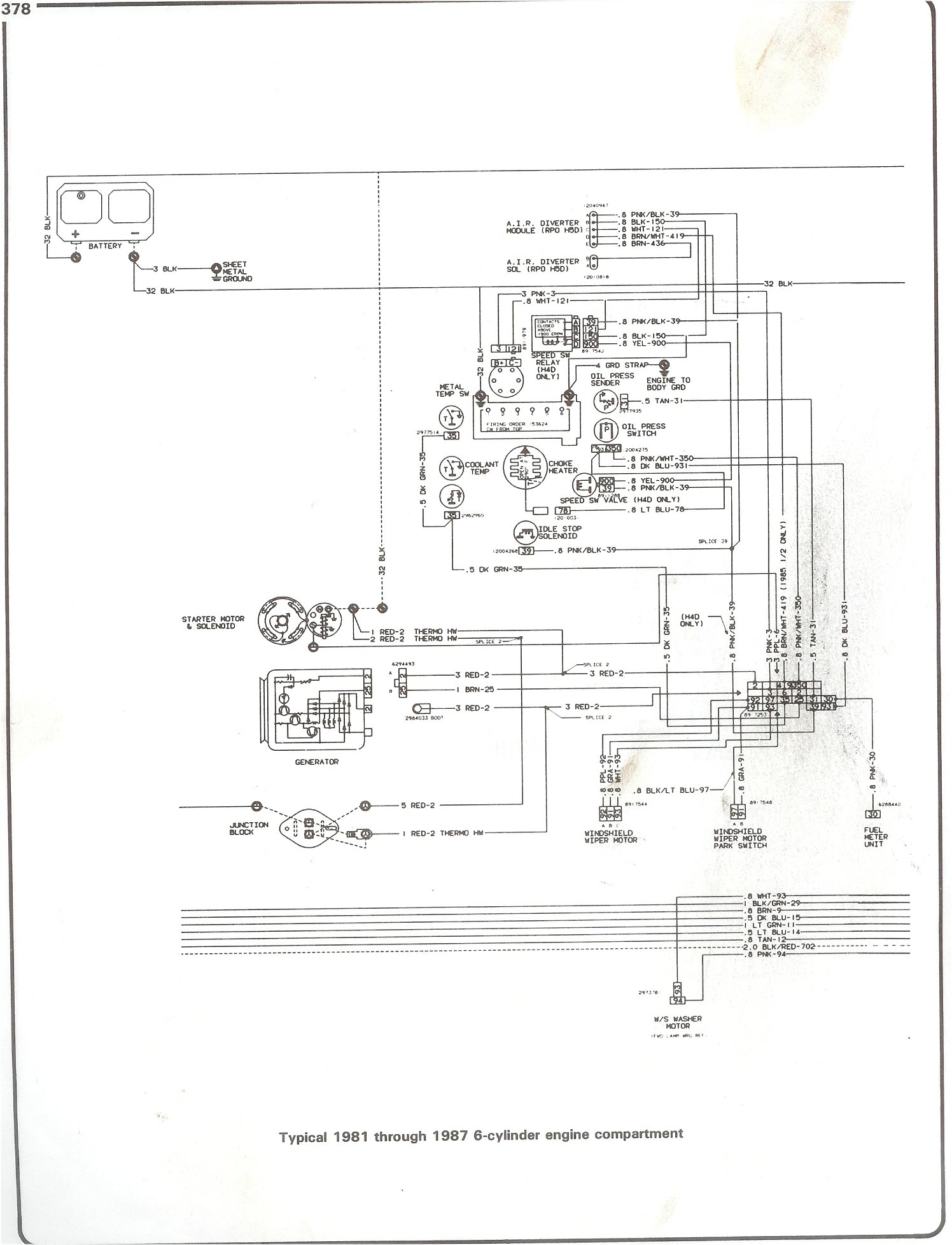 hight resolution of complete 73 87 wiring diagrams ignition wiring diagram chevy 350