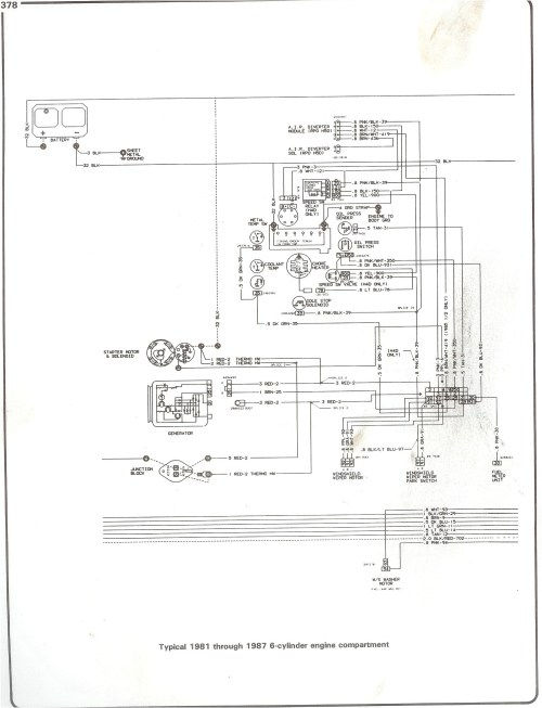 small resolution of complete 73 87 wiring diagrams ignition wiring diagram chevy 350