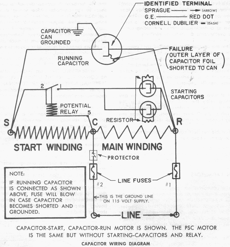 Copeland Potential Relay 040 0166 19 Wiring - Wiring Diagram K10 on
