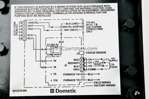 small resolution of dometic digital thermostat wiring diagram manual e books dometic dometic wiring diagram boat ac dometic digital