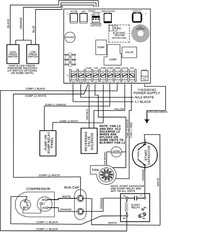 Trane Air Conditioner Diagram