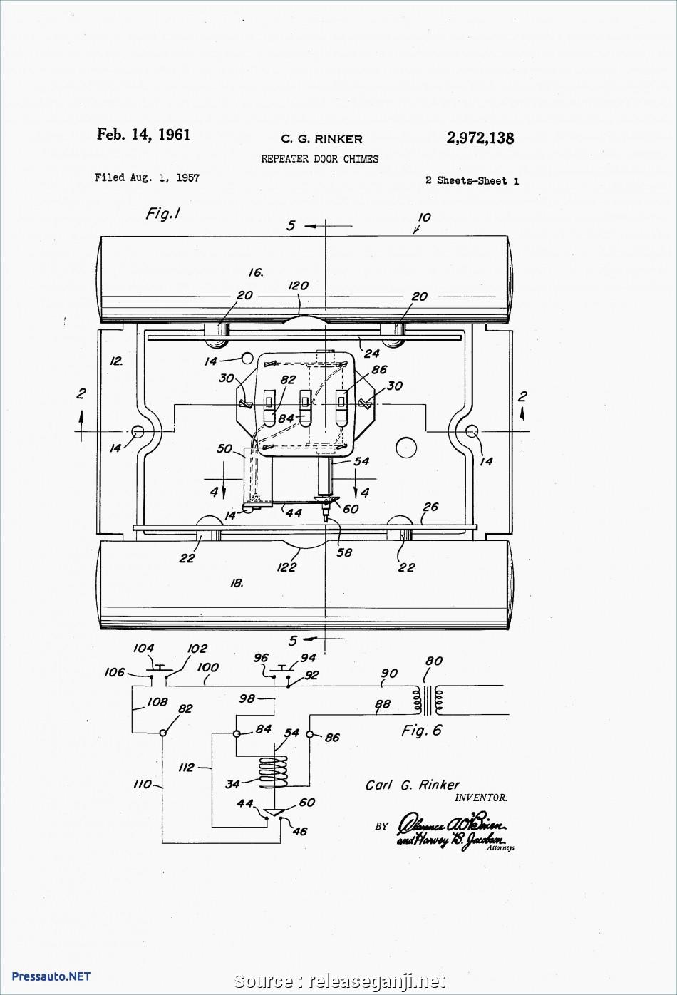 Doorbell Wiring Circuit Diagram
