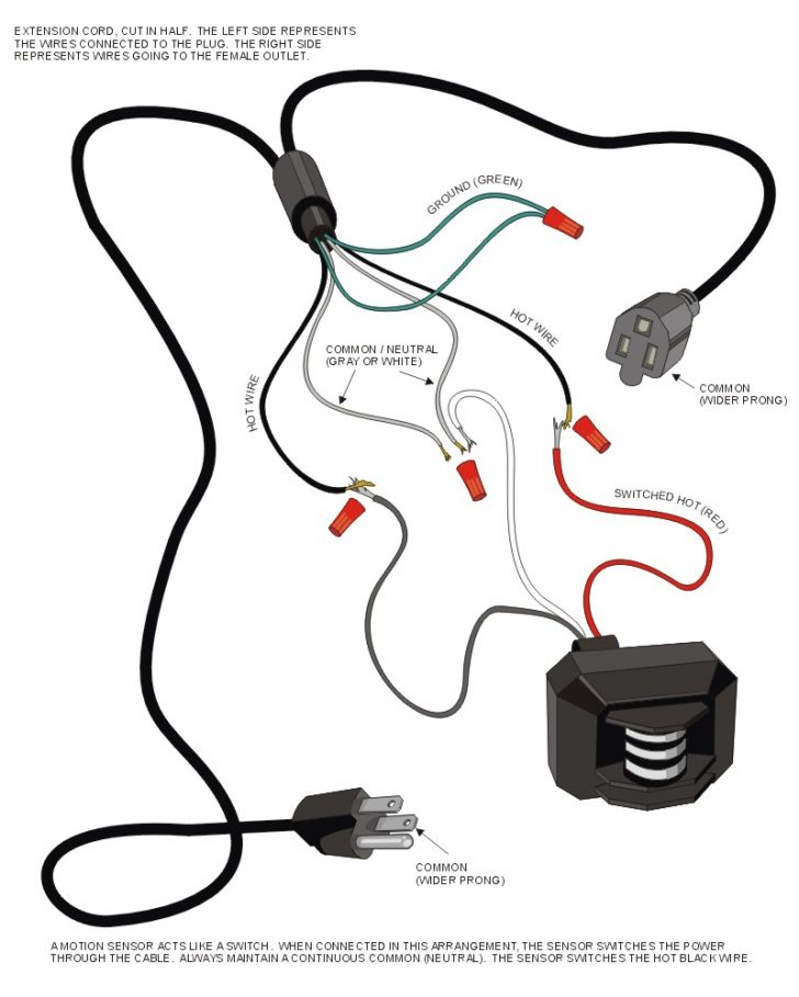 Driveway Sensor Wiring Diagram For Lights