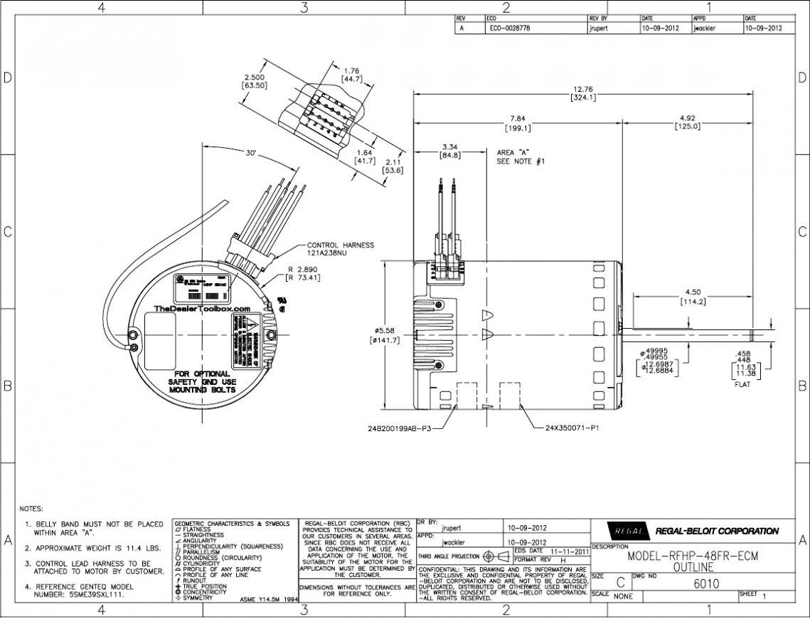 Ecm Motor Wiring Diagram | Wiring Diagram on