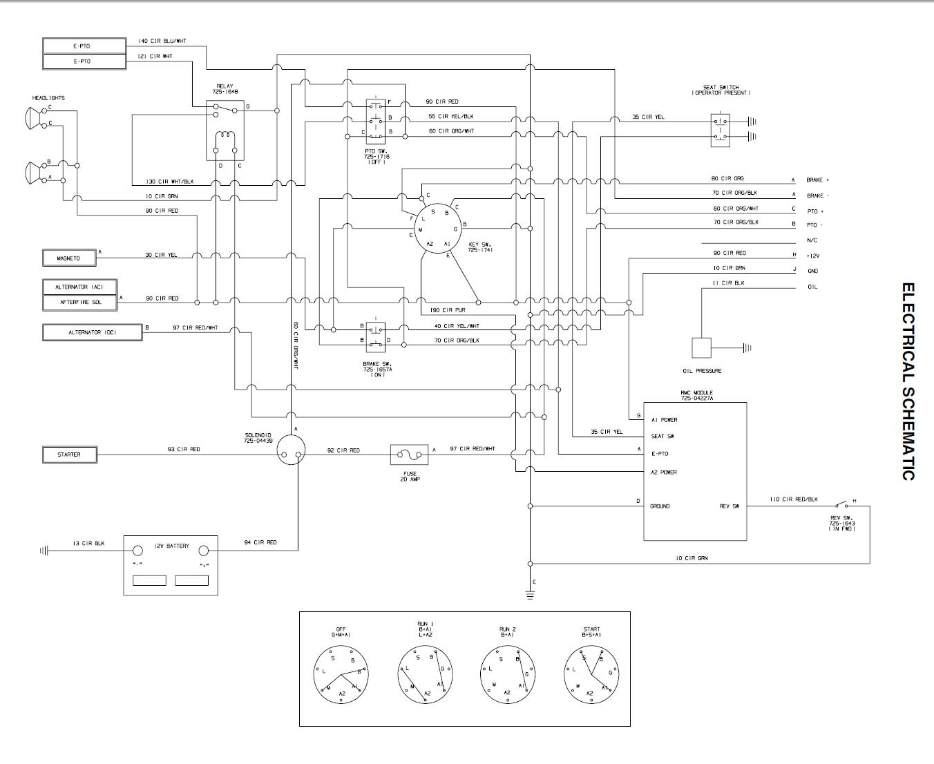 Cub Cadet Schematics   Wiring Diagram