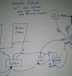 les emg wiring diagram les paul on 3 pickup 1 volume 2 tone wiring  [ 1066 x 800 Pixel ]