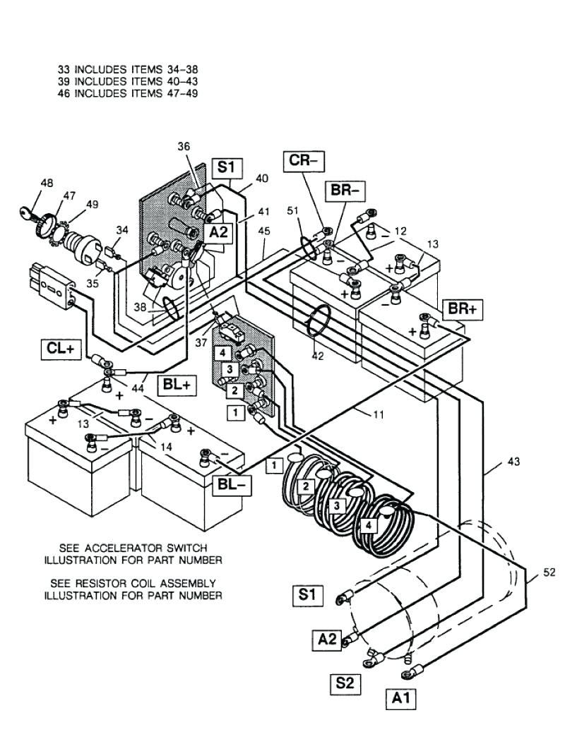 medium resolution of ez go battery wiring diagram serial 937884 wiring diagram e z go ez go battery wiring diagram serial 937884 source western golf cart